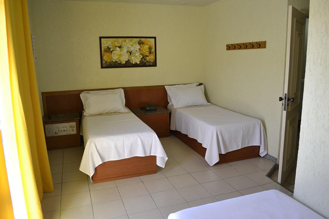Quarto Duplo Hotel Barão